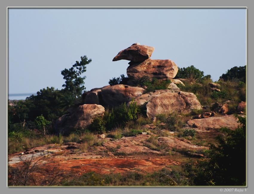 Bird-rock near Tumkur