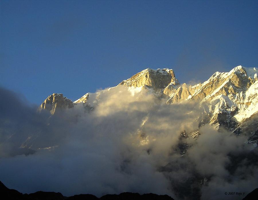 Chowkamba from Kedarnath