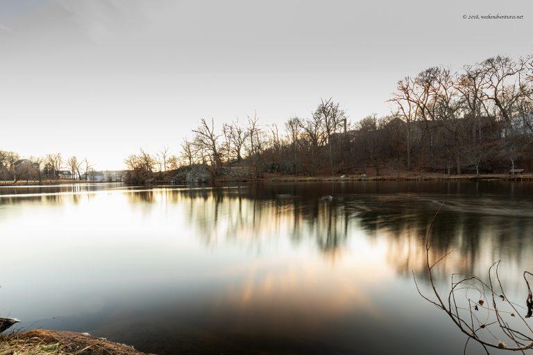 Pond at Medford, MA